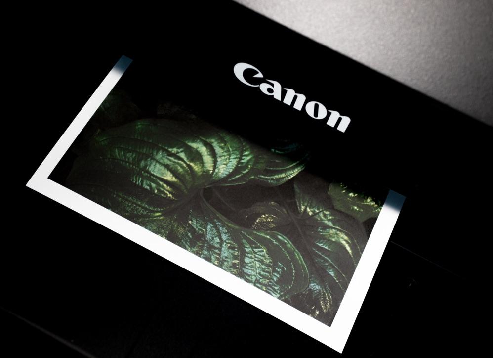 Canon Drucker Test