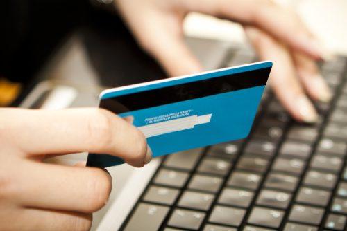 Aufladbare Kreditkarte